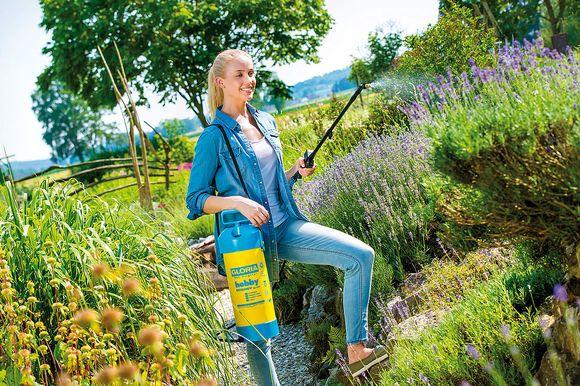 Gloria Spuitscherm professioneel Typ 260 inclusief messing vlakstraalsproeier