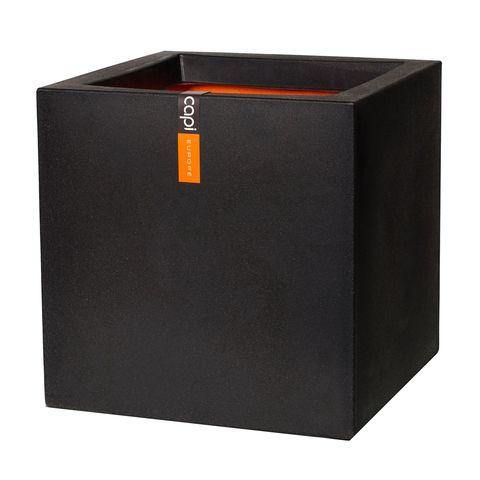 Pot vierkant IV 50x50x50 zwart