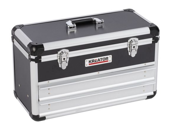 Kreator Aluminium opbergkoffer KRT640602B 52,3x24x30 cm
