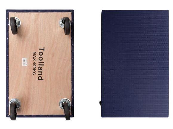 Toolland QT407 Meubeltransporter   Dolly 400kg capaciteit   blauw
