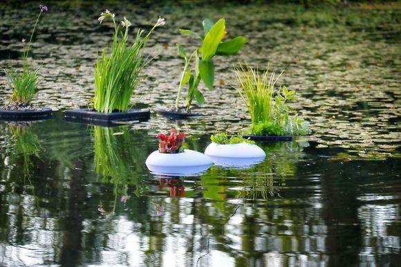 Floating Pond Light