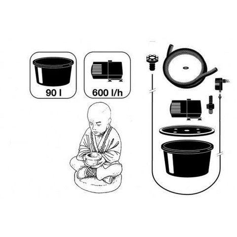 Waterornament boeddha Semarang