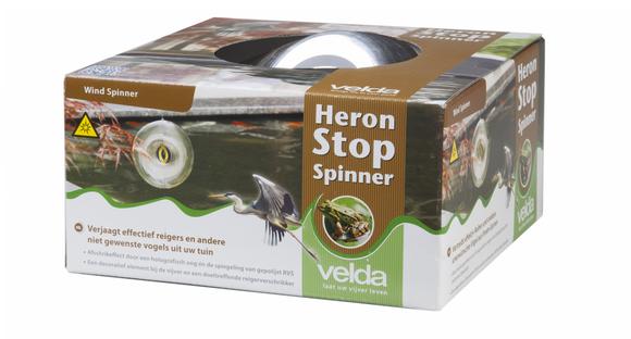 Velda Reiger Verjager Heron Stop Spinner