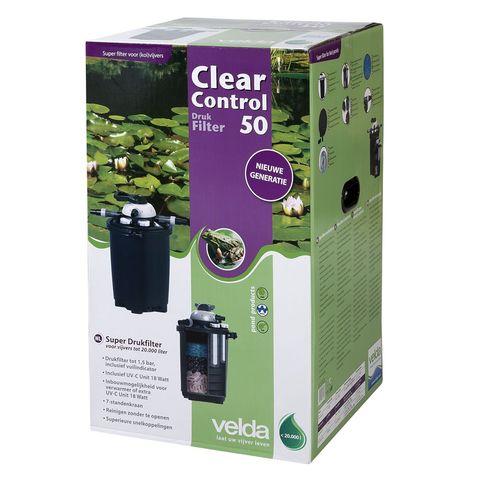 Velda Drukfilter Clear Control 50