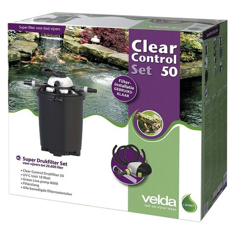 Velda Drukfilter Clear Control 50 Set