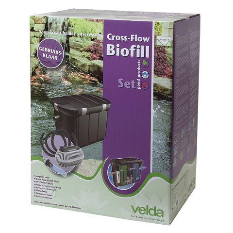 Velda Vijverfilter Cross-Flow Biofill Set
