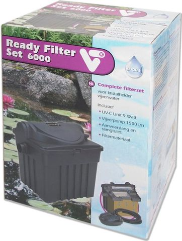 VT Vijverfilter Ready Filter Set 6000