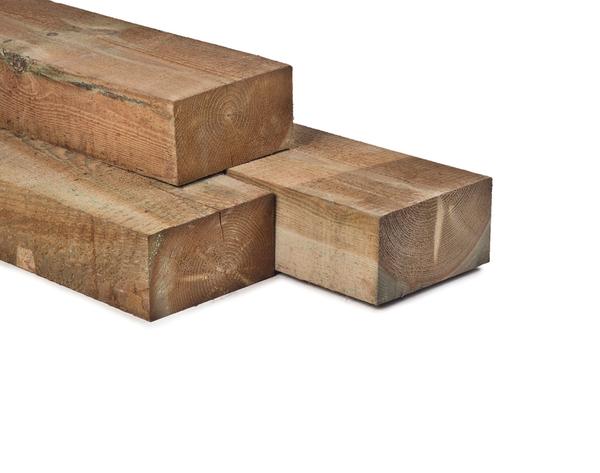 Hout bielzen 12 x 22 x 260 cm spoorbiels modern grenen hout - X houten ...