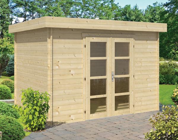 Blokhut Hypermodern 320 x 260 x 234 cm tuinhuis modern plat dak