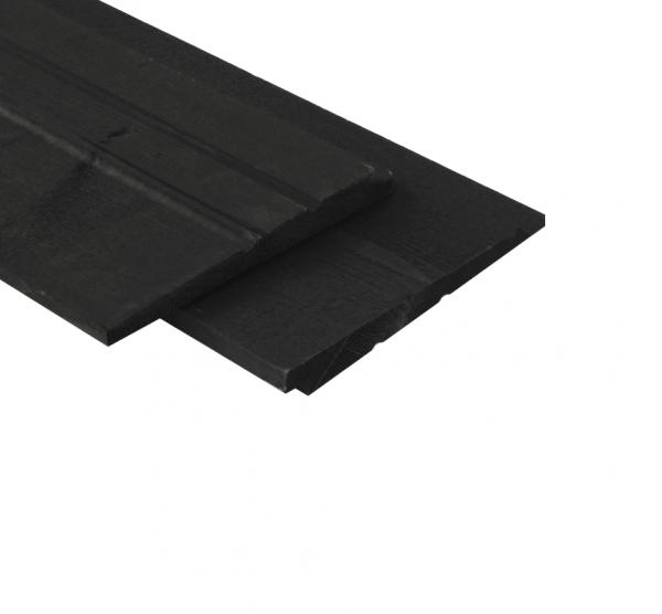 Schutting per meter zweeds rabat zwart gespoten beste prijs - Planken zwarte ...