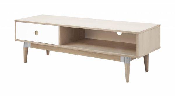 Eikenhout Tv Meubel : Acky eikenhouten tv meubel met lade