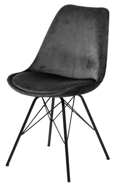 frostrup-grijs-velours-eetstoel-zwart-frame-1