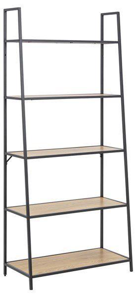 sabro-boekenkast-schuin-cm-wild-eiken-zwart-frame-2