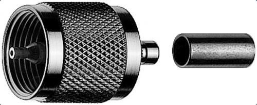 Telegärtner-UHF-Male-RG214/U-connector