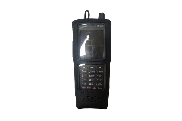 Zacht-leren-tasje-Uniden-SDS100E