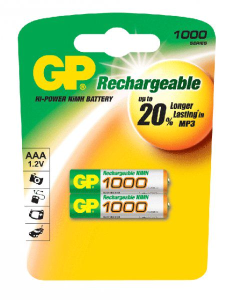 GP-1000mAh-AAA