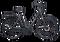popal-vidar-elektrische-damesfiets-28-inch-51-cm-mat-zwart