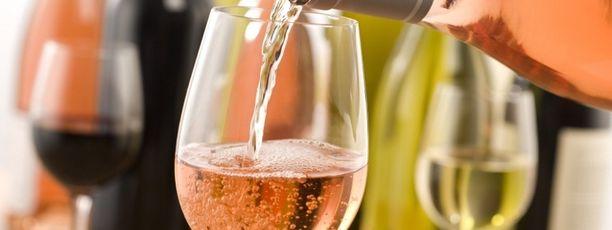 Rosé wijnglas