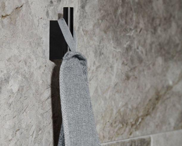 Handdoekhaakjes & handdoekenrek