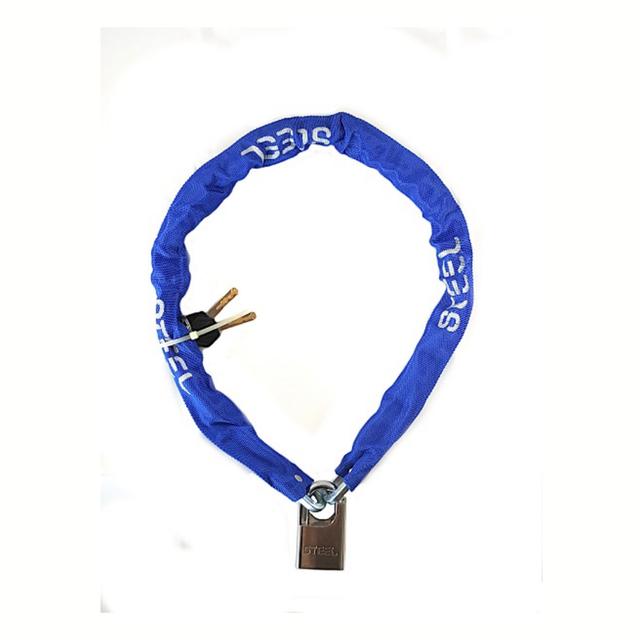 Steel Kettingslot 900 X 6 MM Blauw