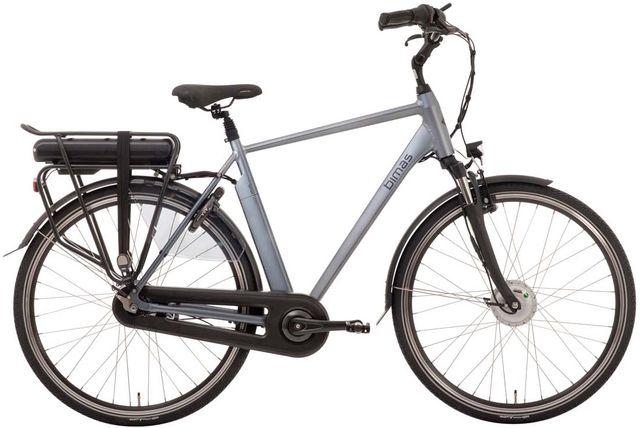Bimas eCity 7.1 Elektrische Herenfiets 28 inch 57 cm Cool Grey