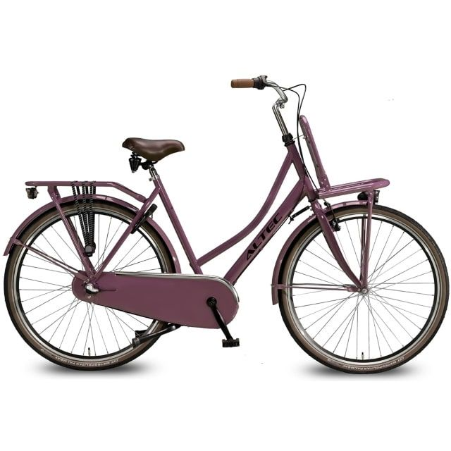 Altec Dutch 28 inch Transportfiets N3 57 cm Dark Rose
