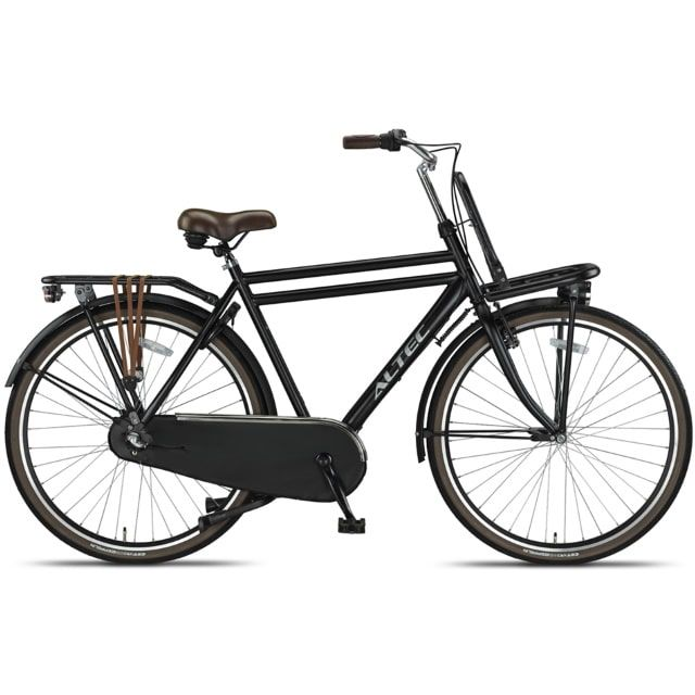 Altec Dutch 28inch Transportfiets Heren N3 55 cm Mat Zwart