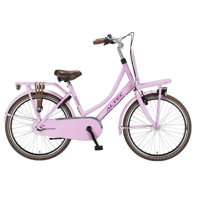 Altec Dutch Transportfiets 3 Versnellingen 24 inch Hot Pink