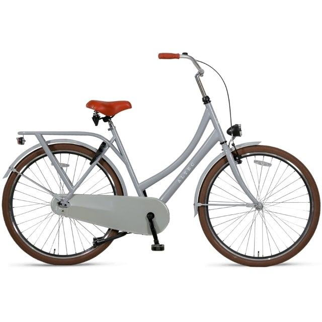 Altec London 28 inch 56 cm Omafiets de Luxe Light Grey