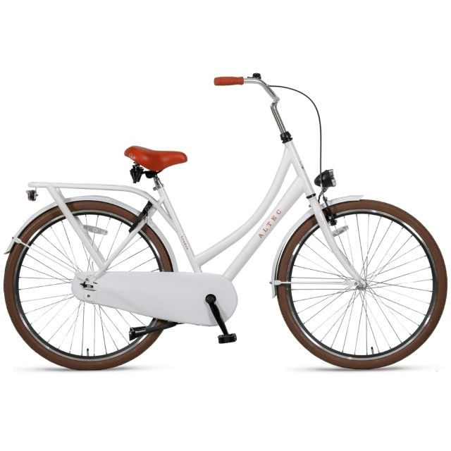 Altec London 28 inch 52 cm Omafiets de Luxe Sparkle White