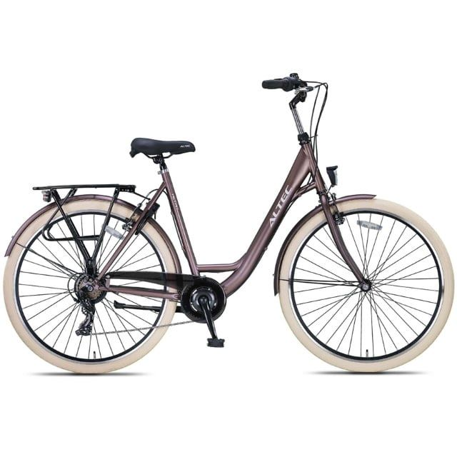 Altec Metro 28 inch Damesfiets 55 cm Terra Brown