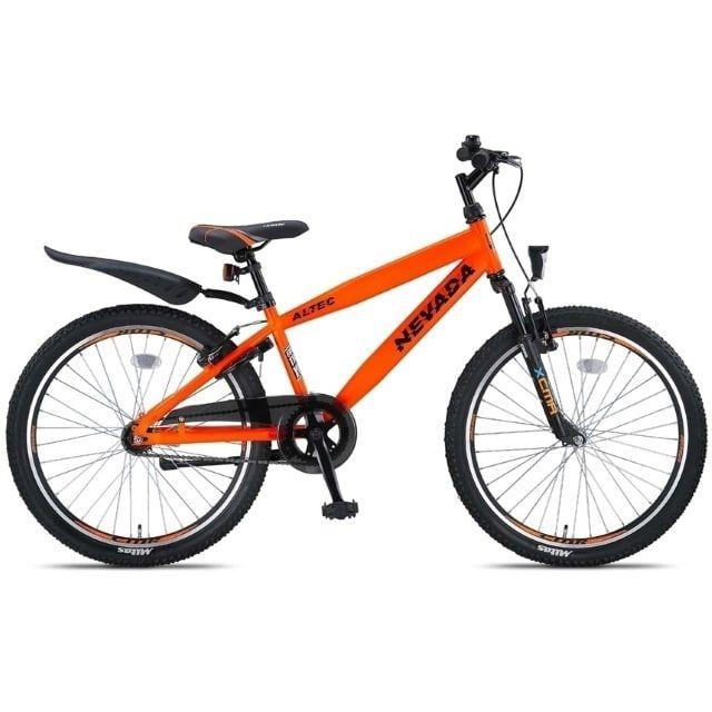 Altec Nevada 24 inch Jongensfiets Orange Neon