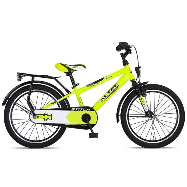 Altec Stitch 20 inch Jongensfiets Lime Green