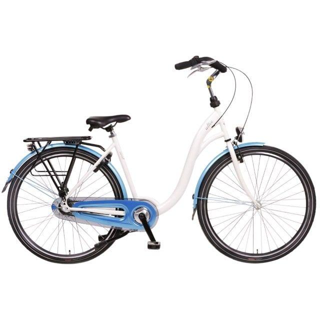 Altec Sweet Moederfiets N3 28 inch 56 cm Wit Blauw