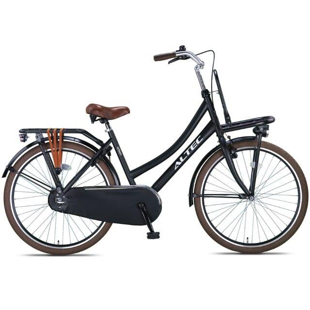 Altec Urban 26 inch Transportfiets Mat Zwart