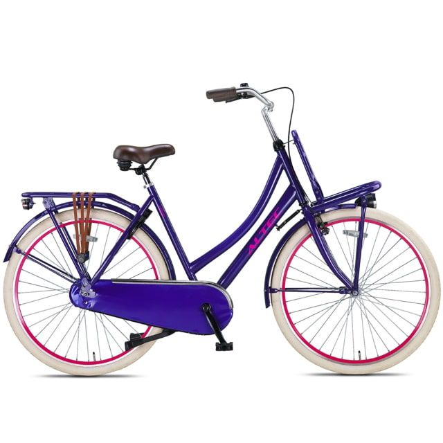 Altec Urban 28 inch 57 cm Transportfiets Purple Damesfiets