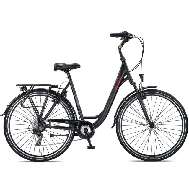Altec Verona 28 inch 49 cm Damesfiets 7SP Night Black