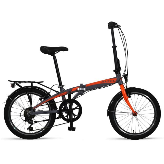 Altec Vouwfiets 20 inch Grey Orange 6 Speed