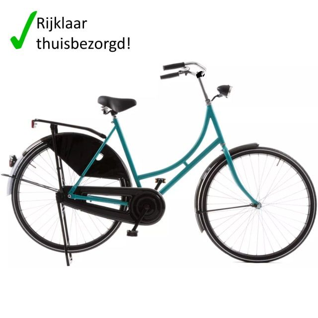 Avalon Omafiets Export 28 inch 57 cm Turquoise 100p
