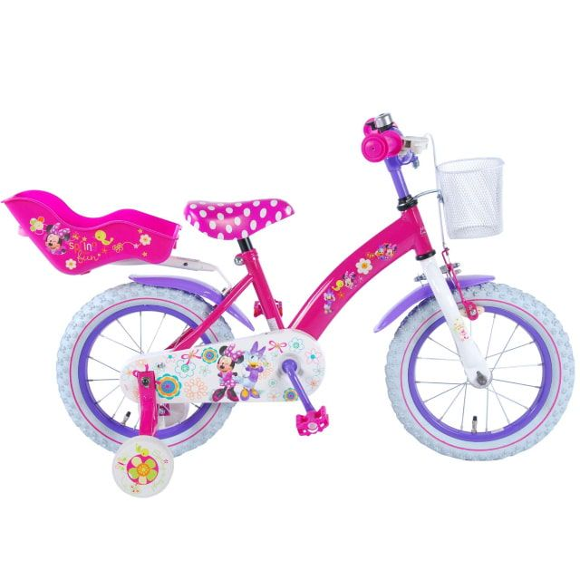 Disney Minnie Bow Tique Kinderfiets Meisjes 14 inch Roze