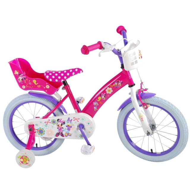 Disney Minnie Bow Tique Kinderfiets Meisjes 16 inch Roze