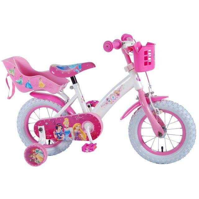 Disney Princess Kinderfiets Meisjes 12 inch Roze