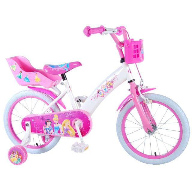 Disney Princess Kinderfiets Meisjes 16 inch Roze