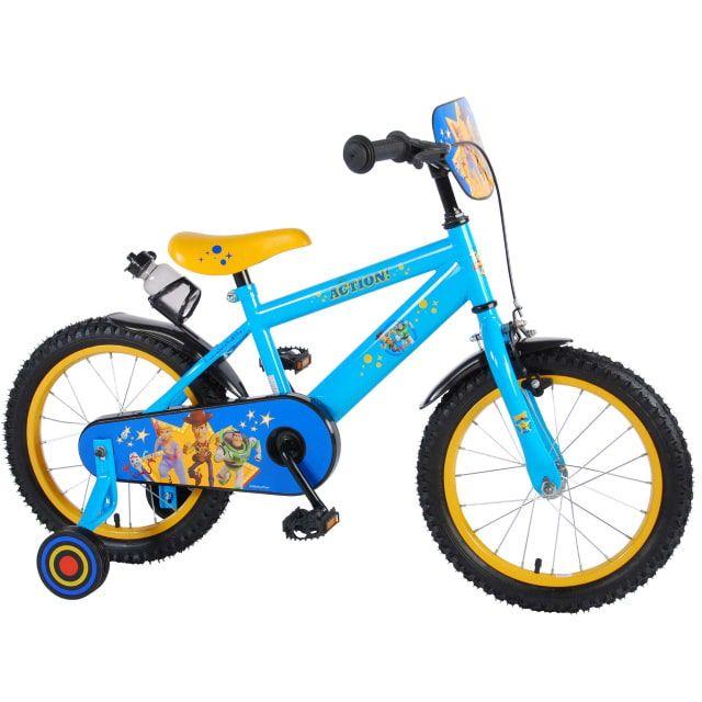 Disney Toy Story Kinderfiets Jongens 16 inch Geel Blauw