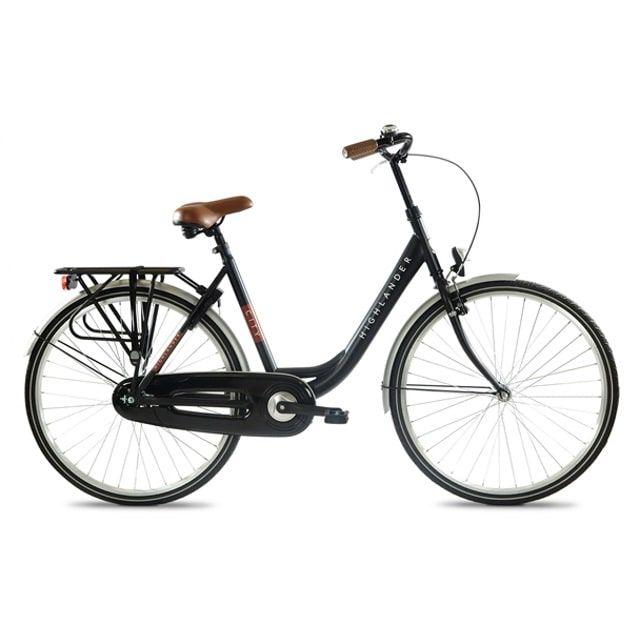 Highlander Citybike Dames 28 inch Black