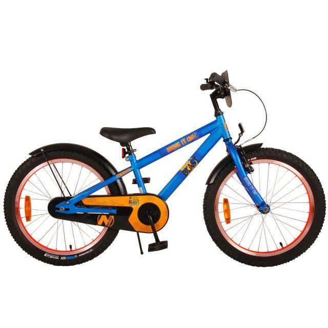 NERF Kinderfiets Jongens 20 inch Satin Blue