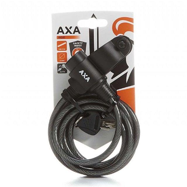 Oprolslot AXA Newton Zwart 60/12