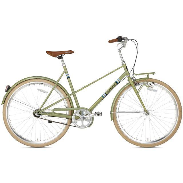 Popal Capri N3 Damefiets 28 inch 50 cm Olive Green
