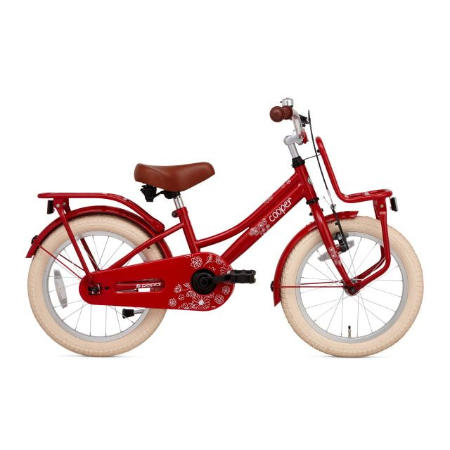 Popal Cooper 18 inch Rood