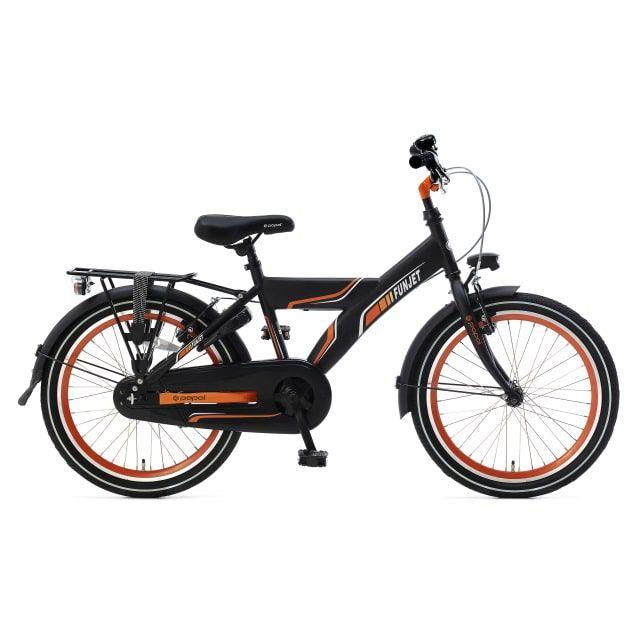 Popal Funjet X 20 inch Mat Zwart Oranje